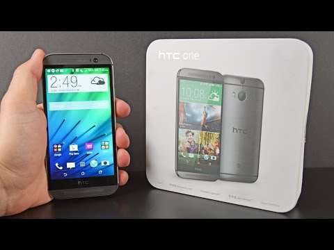 New HTC One (M8): Unboxing & Review
