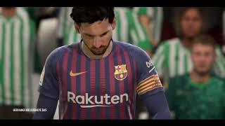 ROUND 28  Real Betis vs FC BARCELONA   FIFA 19 LA LIGA 2018-19