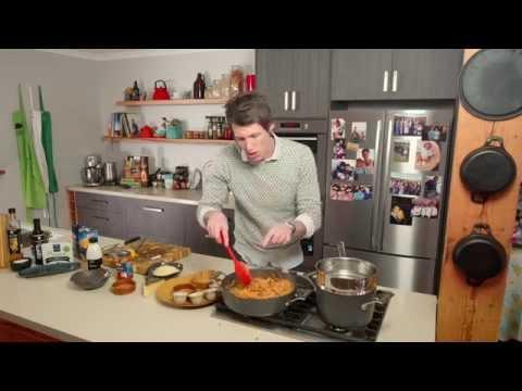 Blackened Spice Huon Salmon pasta bake recipe - Ben's Menu