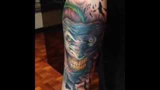 The Making of my Joker tattoo