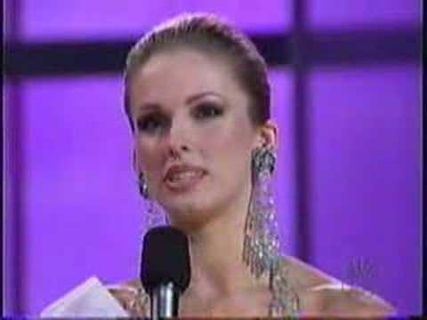 Miss USA 2004- Announcement of the Top 5