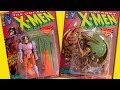 Disney Marvel X-Men Cartoon Toys | AHAB & BROOD Evil Mutants Playset Toy Biz