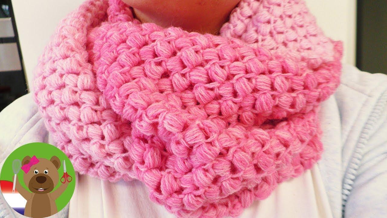 Sjaal Met Zigzagpatroon Haken Supermooie Sjaal Voor De Herfst