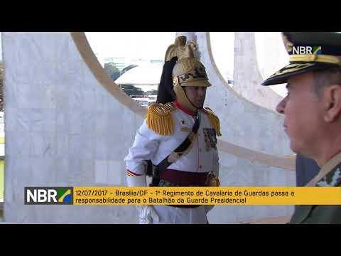 Cerimônia marca a Troca da Guarda Presidencial