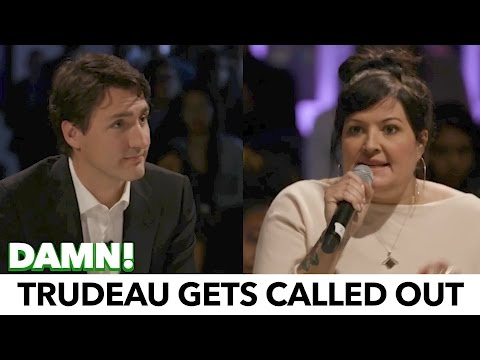 "Trudeau Gets Schooled By Support Worker; ""Do Something!"""