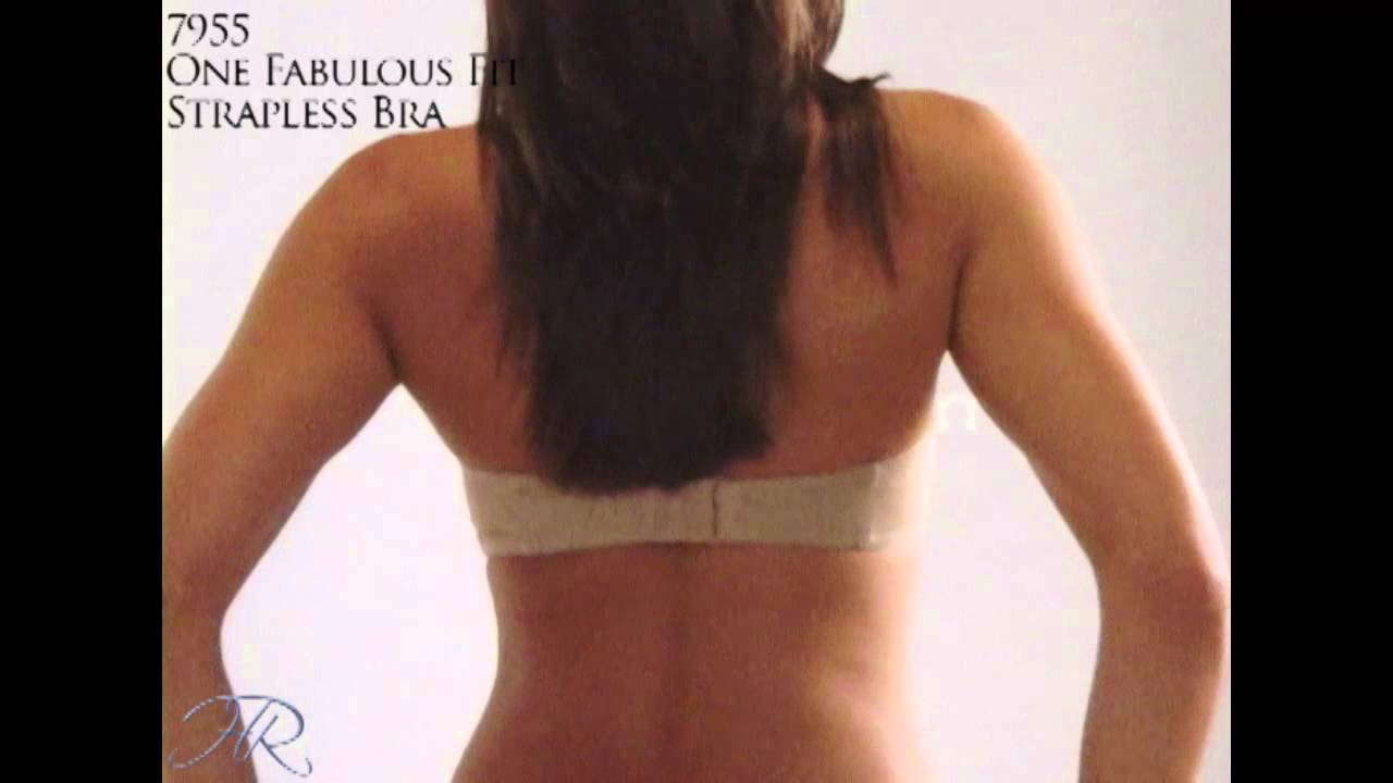 4e444cf4e0 2009 Maidenform - One Fabulous Fit Strapless Bra - YouTube