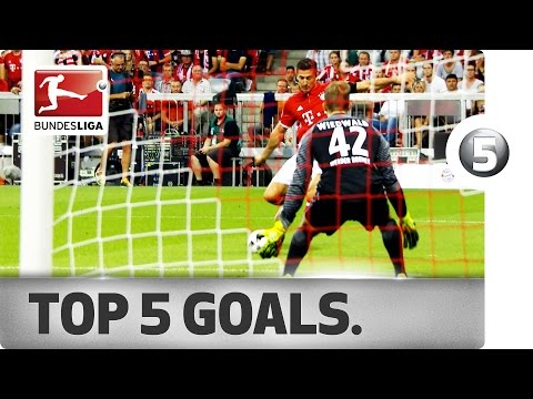 Top 5 Goals - Lewandowski, Alonso and More with Incredible Strikes