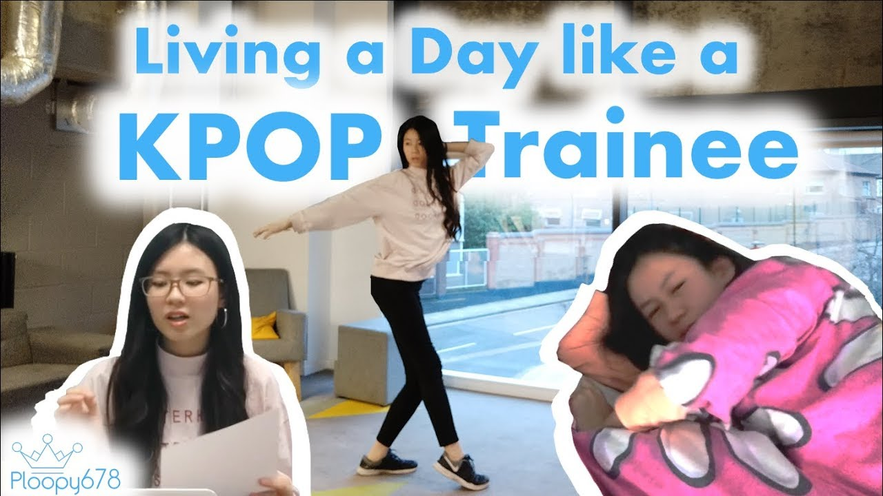 I Trained Like A Kpop Idol For A Day Almost Died Youtube