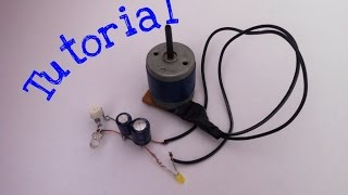 How To Make Mini Electric Generator (Tutorial)