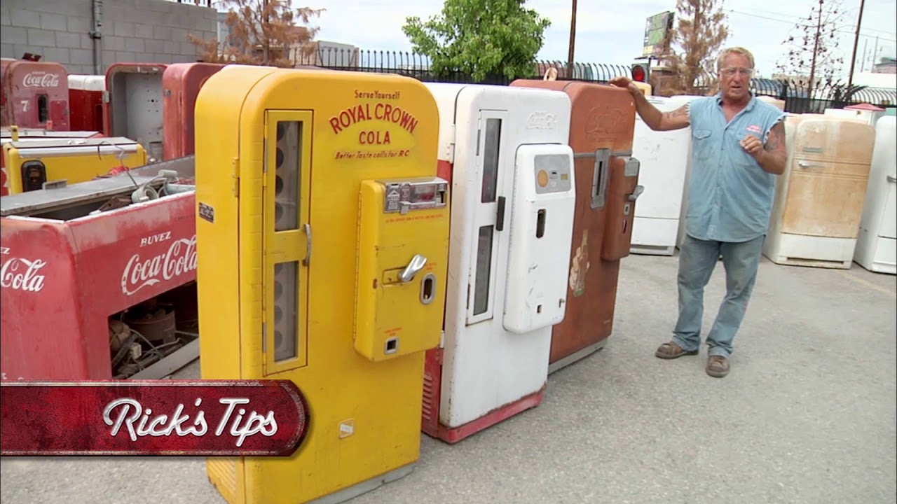 Most Valuable Vending Machine - Rick's Tips - American Restoration