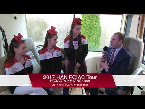 HAN Network FCIAC Winter Sports Tour 2017-18: Fairfield Warde High School  Winter Cheerleading