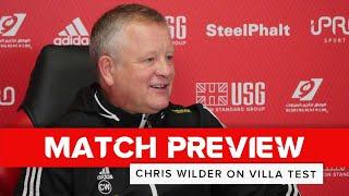 Chris Wilder | Sheffield United v Aston Villa | Preview interview