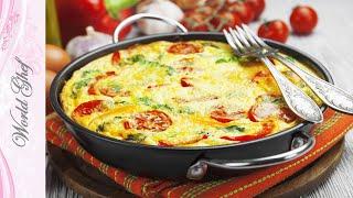 Вкусный рецепт ЯичНица с помидорами и Фасолью | Рецепт