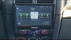 XOMAX XM-VRSUA739 1DIN Android Autoradio, Car Multimedia System - [Unboxing! 4K]