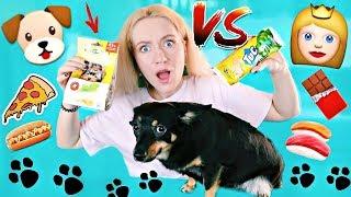 ЕДА ДЛЯ СОБАК ПРОТИВ ОБЫЧНОЙ ЕДЫ ЧЕЛЛЕНДЖ | НЕ ПОВТОРЯТЬ! PET FOOD VS REAL FOOD CHALLENGE DOG FOOD
