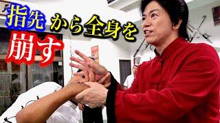 手の指先から足先まで一瞬で全身を崩すチンナの秘密【宮平保が徹底解説】Qin-na Training , Tamotsu Miyahira