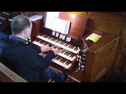 Fairfield Moravian Church Organ - Manchester UK