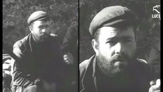 Intervista al bandito Giuseppe Muscau di Orgosolo 15121962