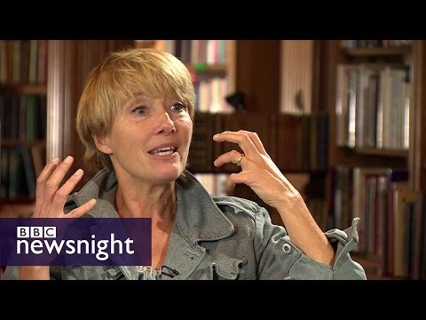 Emma Thompson on climate change and refugees - BBC Newsnight