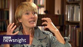 Emma Thompson on climate change and refugees - BBC Newsnight