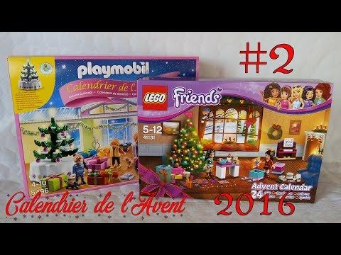 Lego Friends Calendrier De L Avent.Calendrier De L Avent 2016 Lego Friends Et Playmobil Jour 2