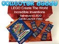 LEGO Create The World - Incredible Inventions Sainsbury's LEGO Cards Launch Video