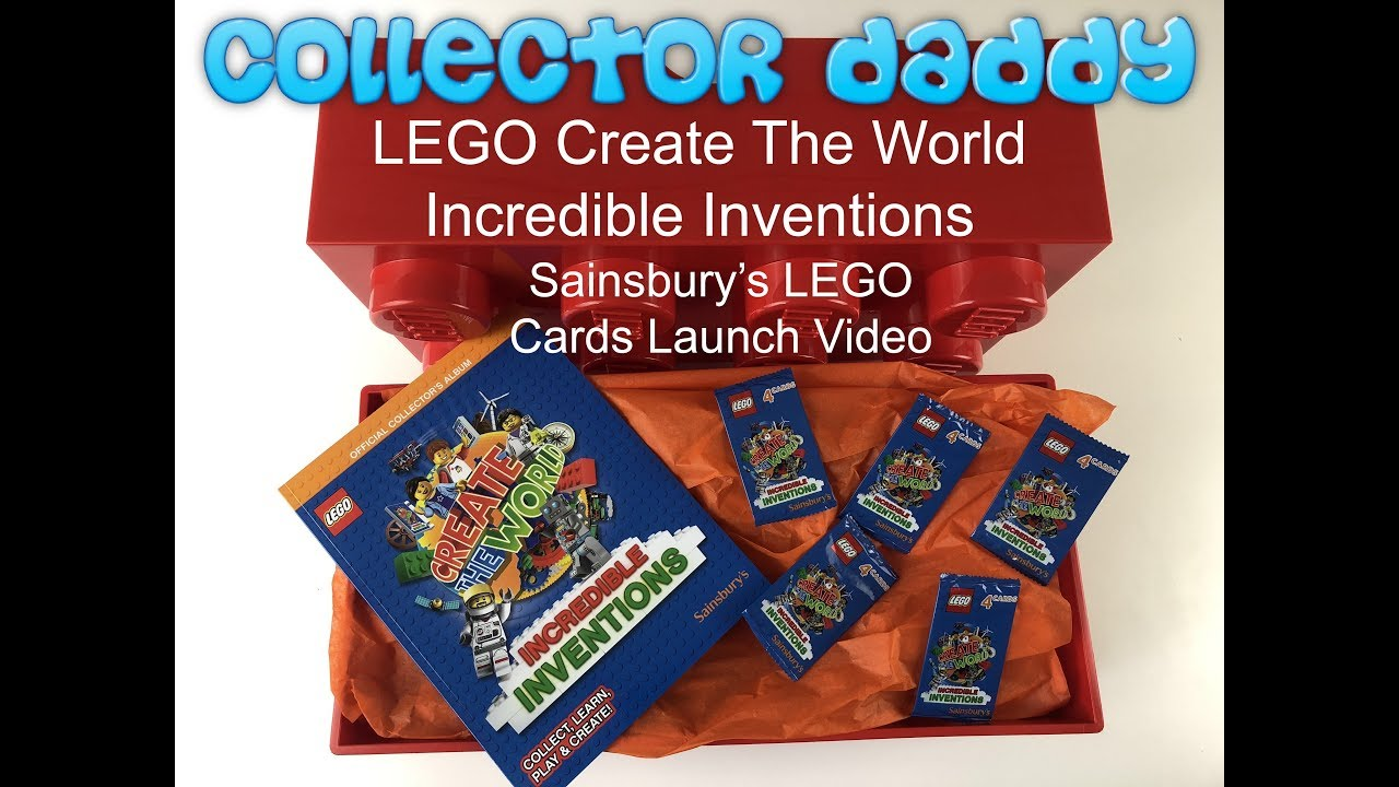 Sainsbury/'s Lego Incredible Inventions card No 8 Pop Star