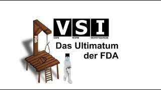 Das Ultimatum der FDA