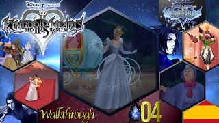 KHBbSFM | 04 - Castillo de los Sueños (Terra) - Walkthrough Español - KINGDOM HEARTS HD 2.5 ReMIX