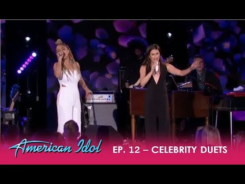 "Jurnee & Lea Michele HEARTFELT Performance - ""Run To You"" By Michele | American Idol 2018"