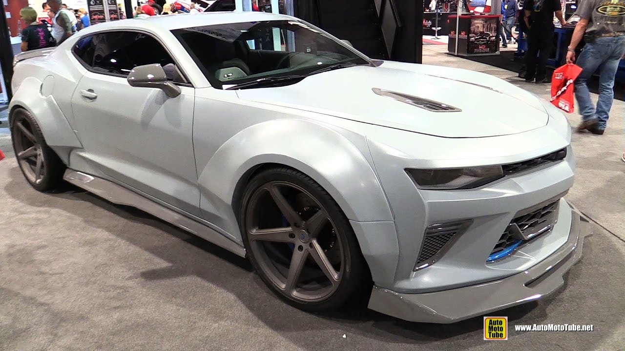 2016 Chevrolet Camaro Ss Customized By Alfa Six Designs