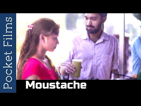 Hindi Short Film - Moustache - Dating a girl from a different religion