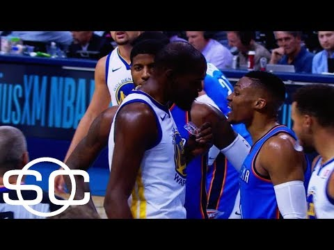 When Kevin Durant and Russell Westbrook face off, emotions run high | SportsCenter | ESPN