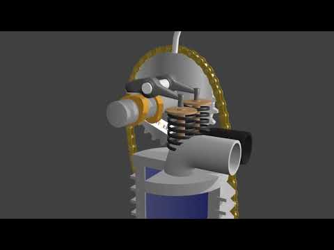 Diesel Engine Working Principle & Animation