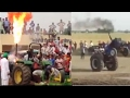 John Deere Tractors Video Stunt And Fire Accident In Punjab video