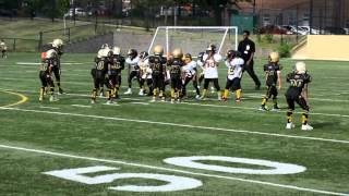 2015 tiny mites lamond riggs steelers vs montgomery village cheifs