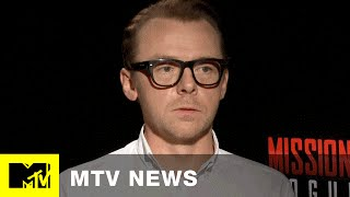 Simon Pegg Ranks All Six 'Star Wars' Movies In Under A Minute | MTV News