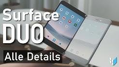 Surface Duo: Microsoft baut ein Smartphone! (Surface Phone Deutsch)