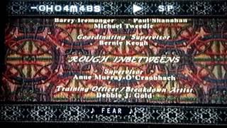 ANASTASiA (1997) END CREDITS (VHS)