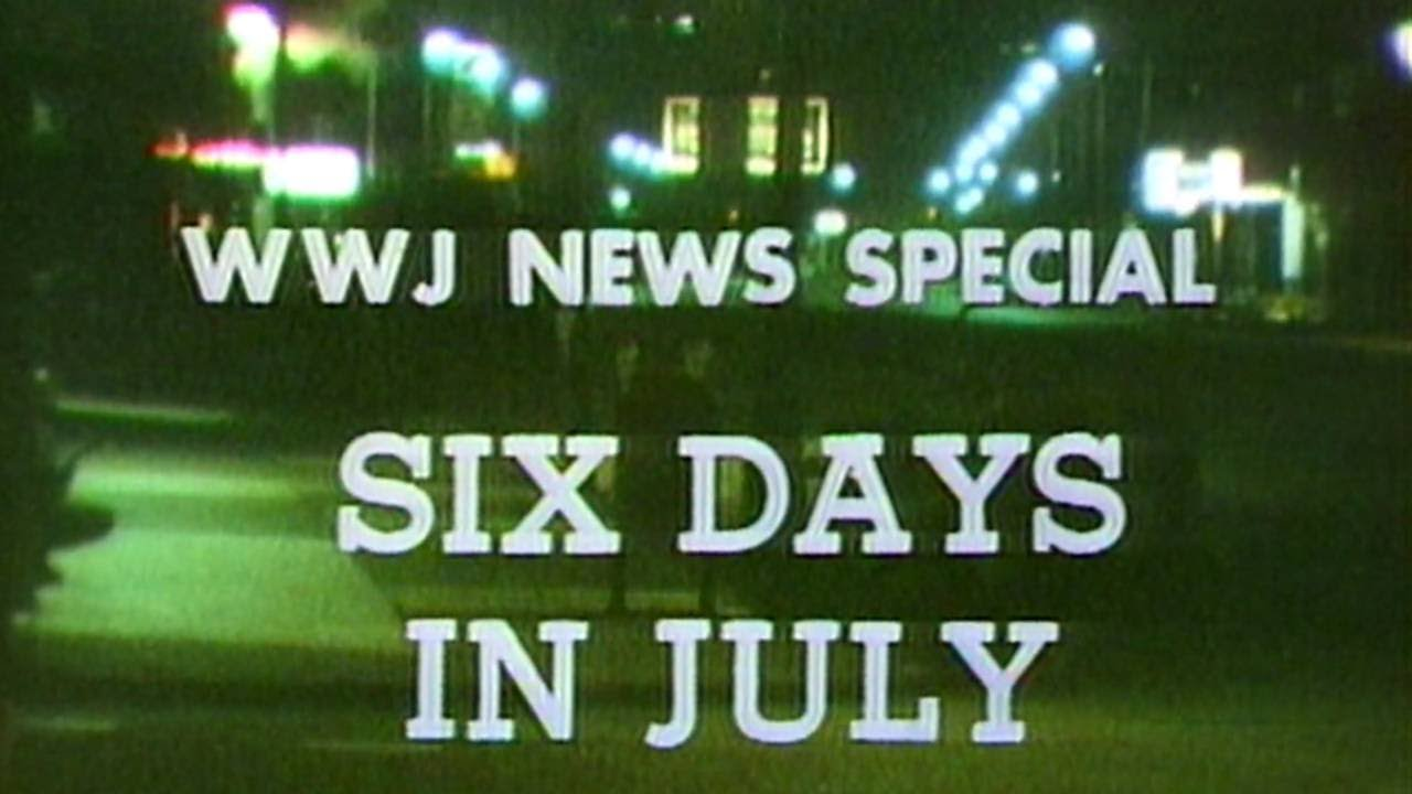 Six Days in July -- Coverage of the 1967 Detroit Riots