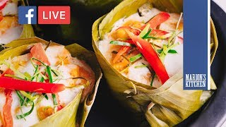 Steamed Red Curry Fish (Haw Mok Plaa) - Marion