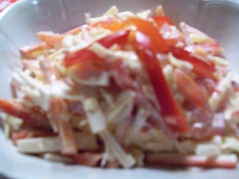 Салат из сыра с -