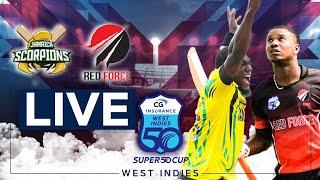 🔴LIVE Jamaica vs Trinidad & Tobago   CG Insurance Super50 Cup
