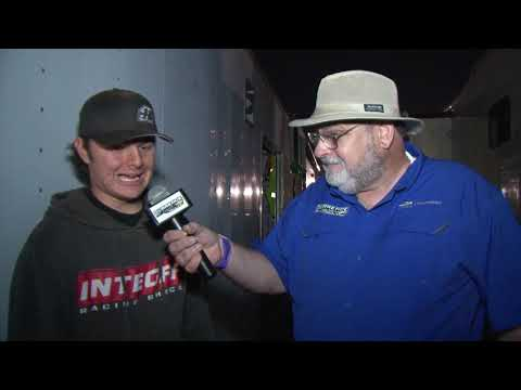Talladega Short Track 10-12-18 Durrence Layne Racing Series Top 3 Interviews