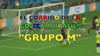 Baixar GOLIZA A BRASIL!!  ( CORRIDO )