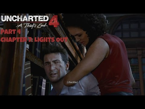 Uncharted 4: A Thief's End Part 4 - Chapter 7: Lights Out (PS4 Broadcast)