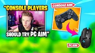 Symfuhny explique ce qui se passe lorsque CONSOLE PLAYERS Essayez PC AIM (fr) Fortnite Daily Funny Moments Ep.378