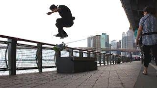 Luan de Oliveira e Cezar Gordo em NY | sobreskate