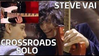 STEVE VAI - Crossroads Solo - Guitar Lesson