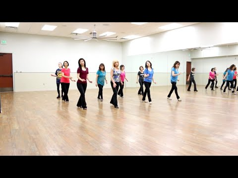 Remember Us This Way - Line Dance (Dance & Teach in English & 中文)